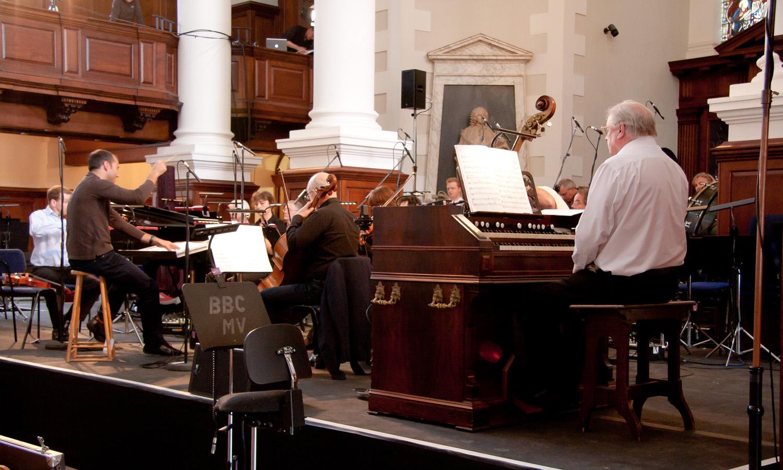 Spitalfields Festival rehearsal - Malolm Hicks